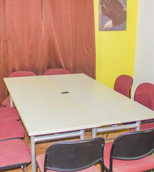 shine nation - salle de réunion
